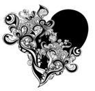 Tattoo,Abstract,Heart Shape,Flower,Doodle,Black Color,White,Floral Pattern,Creativity,Single Line,Grunge,Striped,Valentine Card,Complexity,Vector,Computer Graphic,Symbol,Ink,Black And White,Hand-drawn,Drawing - Art Product,Drawing - Activity,Modern,Imagination,Day,Ornate,Monochrome,Romance,Ilustration,Valentine's Day,Weddings,Illustrations And Vector Art,Holidays And Celebrations