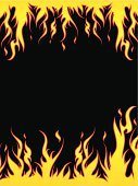 Flame,Vector,Fire - Natural Phenomenon,Backgrounds,Abstract,Burning,Vector Backgrounds,Heat - Temperature,Illustrations And Vector Art