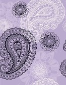 Paisley,Lace - Textile,Henna Tattoo,Seamless,Pattern,Flower,Vector,Backgrounds,Psychedelic,Art,Repetition,Abstract,Retro Revival,Fun,Swirl,Decoration,Ornate,Wallpaper Pattern,Nature,Ilustration,Wrapping Paper,Symmetry,tile-able,Funky,Vector Ornaments,Vector Backgrounds,Illustrations And Vector Art