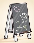 Preschool,Blackboard,School Building,Education,Classroom,Child,Chalk - Art Equipment,Chalk Drawing,Learning,Backgrounds,Preschooler,Concepts And Ideas,Illustrations And Vector Art,Lifestyle,Babies And Children,Childhood,Black Color,Textured,Eraser,Color Image,Teaching