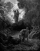 Garden Of Eden,Adam - Biblical Character,Angel,Eve - Biblical Character,Gustave Dore,Men,Sword,In The Dog House,God,Male,Bible,Engraved Image,Punishment,Women,Seven Deadly Sins,Mythology,Old Testament,Female,Mythological Character,Christianity,Religious Offering,Religious Images,People,Religious Scene,Concepts And Ideas,Religious Illustration,Cultures,Religious Event,Religion,Mature Women,Purity,Classical Mythology Character,Religious Image,Catholicism,Innocence,Religion,Spirituality,Mature Men