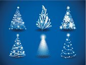 Christmas,Tree,Modern,Magic,Symbol,Arrow Symbol,Blue,Vector,Abstract,Image,Fantasy,Decoration,Snow,Computer Graphic,Christmas Ornament,Ilustration,Set,Cultures,Backdrop,Pine Tree,Curve,Curled Up,Shape,Star Shape,Backgrounds,Season,Design,Winter,Shiny,Ornate,Cold - Termperature,Part Of