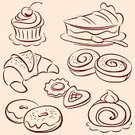 Bakery,Cupcake,Bread,Cookie,Cake,Baking,Croissant,Pastry,Symbol,Dessert,Pie,Vector,Food,Sketch,Donut,Silhouette,Ilustration,Drawing - Art Product,Tart,Outline,Candy,Pattern,Bun,Bagel,Line Art,Cute,Sweet Food,Biscuit,Sweet Bun,Part Of,Homemade,Cherry,Set,Pencil Drawing,Design Element,Collection,Shape,Contour Drawing,Image,Baking,Illustrations And Vector Art,Food And Drink,Vector Cartoons