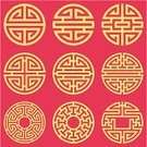 China - East Asia,Chinese Culture,Pattern,Circle,Vector,Wallpaper Pattern,Backgrounds,Shape,Ilustration,Arts Abstract,Vector Backgrounds,Illustrations And Vector Art,Classical Style,Arts And Entertainment