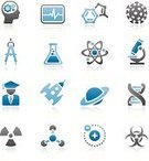 Symbol,Science,Icon Set,Human Brain,Chemistry,Technology,Microscope,Engineering,DNA,Research,Scientific Experiment,Molecule,Atom,Thinking,Contemplation,Biology,Gear,Nanotechnology,Molecular Structure,Formula,Discovery,Complexity,Virus,Scientist,Rocket,Physics,Equipment,Drawing Compass,Flask,Spaceship,Genetic Research,Planet - Space,Concentration,Electron,Biohazard Symbol,Radioactive Warning Symbol,Proton,Isolated On White