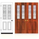 Door,Front Door,Wood - Material,Doorknob,Entrance,Open,Closed,Keyhole,Vector,Doorframe,Architecture,Home Interior,Lock,Symbol,Architectural Detail,Architecture And Buildings,Glass - Material,Design,Illustrations And Vector Art