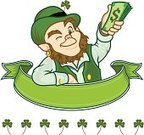 Leprechaun,St. Patrick's Day,Pot Of Gold,Currency,Irish Culture,Cartoon,Coin,Wealth,Clover,Luck,Day,Symbol,Hat,Irish Currency,Dollar,Gold,March,Cute,Gold Colored,Computer Icon,Good Luck Charm,Republic of Ireland,Celebration,Banner,Dollar Sign,Clip Art,Springtime,Happiness,Ilustration,Placard,Green Color,Ribbon,Celtic Culture,Scroll,Design Element,Holidays And Celebrations,Animated Cartoon,Industry,Cheerful,Scroll Shape,Holiday,Currency Symbol,Retail/Service Industry,Vector Cartoons,Colors,Bowler,Northern Ireland,Illustrations And Vector Art,Leaf