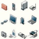 Computer,Isometric,Symbol,Computer Icon,Computer Network,Icon Set,Communication,Firewall,Technology,Computer Equipment,PC,Camera - Photographic Equipment,Mobile Phone,Laptop,Set,Computer Printer,Wireless Technology,Wall,Router,Personal Data Assistant,Internet,Vector,Computer Monitor,Accessibility,Computer Software,Global Communications,USB Cable,MP3 Player,pendrive,USB Flash Drive,Digital Camera,Technology,Electronics,Computers,Photography Themes