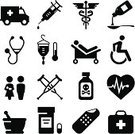 Symbol,Healthcare And Medicine,Icon Set,Healthy Lifestyle,Doctor,Medicine,Hospital,Stethoscope,Ambulance,Heart Shape,Illness,Vector,Bed,Family,Physical Impairment,Baby,Crutch,Narcotic,Adhesive Bandage,Toxic Substance,Wheelchair,Syringe,Rx,Mother,Bandage,Thermometer,Caduceus,Pulse Trace,Cold And Flu,Black And White,Flu Virus,Accessibility,Snake,Ilustration,Spoon,Prescription Medicine,IV Drip,Clip Art,Design,Series,Design Element,Image,Clipping Path