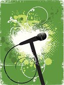 Microphone,Music,Dirty,Grunge,Backgrounds,Abstract,Graffiti,Vector,Green Color,Flower,Silhouette,Old,Sketch,Design,Spray,Textured Effect,Cable,Splattered,Halftone Pattern,Splashing,Ink,Spotted,Design Element,Lifestyles,Liquid,Tracing,Inkblot,Stained,Brush Stroke,Vector Florals,Drop,Illustrations And Vector Art,Spraying,Music,Arts And Entertainment,Unhygienic