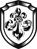 Lily,Flower,Tattoo,Shield,Delaware,French Culture,Indigenous Culture,Coat Of Arms,heraldic,Simplicity,Sign,Badge,Swirl,Insignia,Decoration,Nobility,France,kingdom,Medieval,Emperor,Design,Vector,Royal Person,Throne,Decor,Art,Black Color,Shape,Ornate,Old-fashioned,Old,Antique,Symbol,Religion,Classic,Retro Revival,Computer Graphic,Ilustration,Single Object,Sovereignty,Success,Power,Vector Icons,Illustrations And Vector Art,Material,Part Of,Art Product,Power,Concepts And Ideas