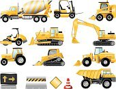 Earth Mover,Dump Truck,Bulldozer,Construction Machinery,Construction Industry,Tractor,Truck,Forklift,Snowplow,Vehicle Scoop,Concrete,Machinery,Vector,Cement Mixer,Icon Set,dozer,Land Vehicle,Road Scraper,Road Construction,Steamroller,Sign,Side View,Excavation Vehicle,Traffic,Equipment,Danger,Construction Barrier,No People,Series,Traffic Cone,Construction,Arrow Symbol,Transportation,Industry,Road Warning Sign