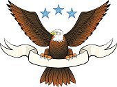 Eagle - Bird,American Culture,Banner,Insignia,Bald Eagle,Sign,Patriotism,Vector,Retro Revival,Old-fashioned,Scroll Shape,heraldic,Royalty,Coat Of Arms,Wing,Bird,Star Shape,Animal,1940-1980 Retro-Styled Imagery,Ilustration,Design Element,Vector Icons,Birds,Swirl,graphic elements,Part Of,Animals And Pets,Illustrations And Vector Art
