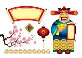 Chinese Ethnicity,Chinese New Year,China - East Asia,God,Asian Ethnicity,Flower,Frame,Pattern,Luck,Currency,Symbol,Backgrounds,Chinese Lantern,Chinese Script,Banner,Chinese Culture,Coin,Cartoon,East Asian Culture,Design Element,Asian and Indian Ethnicities,Computer Graphic,Vector,Ilustration,Traditional Festival,Gold,Cultures,Prosperity,Cherry Blossom,Clip Art,Cute,Springtime,Red,Greeting,Religion,Calligraphy,Celebration,Smiling,Chinese Scroll,Happiness,Traditional Clothing,Wave Pattern,Abstract,Holidays And Celebrations,web icon,New Year's,Copy Space