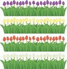 Tulip,Flower Bed,Frame,Gardening,Stem,Grass,Set,Petal,Springtime,Pattern,Green Color,Flower Head,Plant,Vector Backgrounds,Ilustration,White,Abstract,Summer,Nature,Pollen,Lily-Flowered Tulip,Fragility,Tranquil Scene,Multi Colored,Mariposa Tulip,Leaf,Nature,Flower,Design,Flowers,Colors,Red,Beauty In Nature,Illustrations And Vector Art,Floral Pattern,Vector,Yellow,Vector Florals