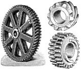 Engraving,Gear,Engraved Image,Old-fashioned,Machinery,Equipment,Communication,Engineering,Symbol,Industry,Machine Part,Action,Obsolete,Three Objects,Machine Teeth,Three-dimensional Shape,toothed,Technology Symbols/Metaphors,Isolated Objects,Metal Wheel,Isolated,Technology