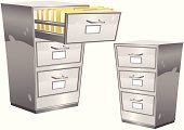 Cabinet,Filing Cabinet,File,Archives,Drawer,Document,Open,Storage Compartment,Container,Steel,Furniture,Closed,Metal