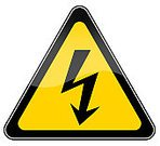 Electricity,Danger,Shock,Symbol,High Voltage Sign,Sign,Warning Sign,Safety,Power,Lightning,Risk,Power Supply,Triangle,Industry,Fuel and Power Generation,Yellow,Isolated On White,Ilustration