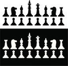 Chess,Chess Rook,Chess Knight,Horse,Chess Pawn,Chess Bishop,Chess King,Vector,Set,Chess Queen,Leisure Games,Playing,Sport,Play,Vector Icons,Individual Sports,Sports And Fitness,Illustrations And Vector Art