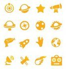 Rocket,Symbol,Computer Icon,Space,Icon Set,Futuristic,Star - Space,Robot,Alien,Forecasting,Comet,Satellite,Science,Earth,Human Hand,Astronomy Telescope,UFO,Astronomy,Sun,Laser Gun,Moon,Shape,Exploration,Star Shape,Technology,Orbiting,Globe - Man Made Object,Vector,Direction,Symbols Of Peace,Wave Pattern,Moon Surface,Radio Wave,Satellite Dish,Illustrations And Vector Art,Nature,Vector Icons