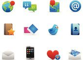 Symbol,Map,Icon Set,Sharing,Global Positioning System,@,Smart Phone,Love,Web Page,Bookmark,Bluebird,The Media,Mobile Phone,Notebook,Communication,Global Communications,Note Pad,Vector,Bird,nevigation,Heart Shape,Vector Icons,Technology,Communications Technology,Illustrations And Vector Art,Address Book,Speech Bubble