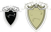 Shield,Sign,Memorial Plaque,Ornate,Brewery,Panel,Vector,Label,Outline,Design,Shape,Old-fashioned,Scroll Shape,Line Art,Elegance,Design Element,Black And White,Intricacy,Cut Out,Curve,Ilustration,Intertwined,Copy Space,Creativity,Classic,Isolated On White,Frame,Illustrations And Vector Art,Clip Art,Decoration,Concepts And Ideas,Style,Alcohol,Vector Ornaments,Food And Drink