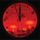 Hydrogen Bomb,Clock,War,Nuclear Weapon,Atomic Bomb Testing,Time,Mushroom Cloud,Bomb,Terrorism,Threats,Missile,Disaster,Cityscape,Fire - Natural Phenomenon,Ilustration,Horror,Weapon,City,Urban Scene,Vector,Radiation,Exploding,Symbol,Concepts,Damaged,Clock Face,Death,Hopelessness,Town,Danger,Dark,Night,Military,Illustrations And Vector Art,Warning Sign,Power,Destruction,Urban Skyline,Midnight,Environmental Damage,Sky,Backgrounds,Intercontinental Ballistic Missile,Architecture Abstract,Red,Circle,Architecture And Buildings,Medicine And Science,Vector Cartoons,Science Symbols/Metaphors,Warning Symbol