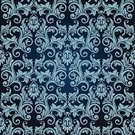 Blue,Seamless,Old-fashioned,Scroll Shape,Pattern,Vector,Retro Revival,Luxury,Design Element,Ornate,Backgrounds,Square Shape,Elegance,Continuity,Square,Illustrations And Vector Art,Vector Ornaments,Arts Backgrounds,Intricacy,Arts And Entertainment,Vector Backgrounds,Wallpaper Pattern,Decor,Ilustration,Color Image,Swirl,Repetition