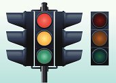 Stoplight,Lighting Equipment,Traffic,Green Light,Street Light,Red Light,Highway,Road Intersection,Electric Lamp,Green Color,Amber Light,Technology,Isolated Objects,Walking,Illustrations And Vector Art