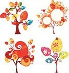 Easter,Tree,Cartoon,Springtime,Flower,Design,Cute,Bird,Design Element,Multi Colored,Gift,Symbol,Set,Illustration Technique,Valentine's Day - Holiday,Color Image,Collection,Nature,Decor,Bush,Decoration,flourishes,Beauty In Nature,Easter,Valentine's Day,Holidays And Celebrations,Illustrations And Vector Art,Painted Image,Green Color