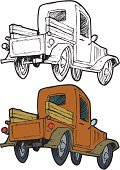 Truck,Pick-up Truck,Old,Collector's Car,Car,Cartoon,Oil Rig,Traffic,Wreck,clunker,Bumper,Ilustration,Drive,Wheel,Riding,Vector,Mode of Transport,conveyance,Transportation,At The Edge Of,Truck Bed,Motor Vehicle,old truck,Hubcap,Illustrations And Vector Art,oldtime,Carrying,Land Vehicle,Trucking,Transportation,Objects/Equipment