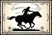 Wild West,Cowboy,Horse,Frame,Running,Riding,Pony,Retro Revival,Symbol,Old-fashioned,Banner,pony express,Design Element,Ornate,Pattern,Antique,Poster,Vector,19th Century Style,Design,Clip Art,Style,Paper,Whip,Decoration,Ribbon,Scroll Shape,Angle,Single Line,Digitally Generated Image,Parchment,Victorian Style,Swirl,Competition,Speed,underline,Animals And Pets,Curve,Lifestyle,Farm Animals,One Person,Grass,Adults,Illustrations And Vector Art,Mirrored Pattern,Torn