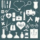 Medical Symbol,Doctor,Healthcare And Medicine,Stethoscope,Equipment,Human Teeth,Icon Set,Dental Equipment,Hospital,Serum Sample,Syringe,Eyeglasses,Scissors,People,Illustrations And Vector Art,Vector Icons,Beauty And Health,Medicine,Microscope,Pill,Medical Sample,Capsule,Isolated