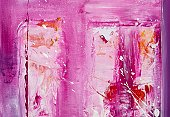Acrylic Painting,Paintings,Painted Image,Abstract,Pink Color,Multi Colored,Individuality,Art,Visual Art,Arts Backgrounds,Arts Abstract,Arts And Entertainment,Creativity,Textured,Art Product,Backgrounds