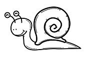 Snail,Cartoon,Vector,Cute,Animal,Drawing - Art Product,Backgrounds,Paintings,Computer Icon,Drawing - Activity,Symbol,Computer Graphic,Tracing,Vector Icons,Animals And Pets,Male Animal,Reptiles,White,Happiness,Cheerful,Vector Cartoons,White Background,Illustrations And Vector Art,Ilustration,Fun,Garden Snail,One Animal,Art Product