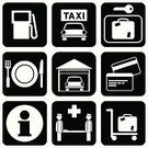 Gas Station,Garage,Symbol,Restaurant,Food,Credit Card,Sign,Auto Repair Shop,Service,Computer Icon,Luggage,Icon Set,Childbirth,Currency Exchange,Silhouette,Data,Information Medium,Repairing,Healthcare And Medicine,Vector,Exchange Rate,medical assistance,Retail/Service Industry,Industry,Illustrations And Vector Art,Vector Icons