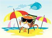Summer,Animal,Beach,Mammals,Feelings And Emotions,Summer,Concepts And Ideas,Sky,Animals And Pets,Nature