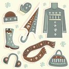 Winter,Boot,Fashion,Personal Accessory,Clothing,Coat,Scarf,Women,Computer Icon,Cap,Shoe,Set,Shopping,Cold - Termperature,Jacket,Vector,Hat,Dress,Bag,Design,Abstract,Ilustration,Objects/Equipment,Fashion,Illustrations And Vector Art,Vector Icons,Industrial Objects/Equipment,Snowflake,Beauty And Health