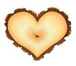 Heart Shape,Tree,Wood - Material,Tree Ring,Bark,Log,Forest,Cross Section,Growth,Love,Textured Effect,Vector,Concentric,Symbol,Tree Trunk,Textured,Ideas,Timber,Single Object,Aging Process,Ilustration,Valentine Card,Material,Old,Romance,No People,Nature,Cracked,Objects/Equipment,Illustrations And Vector Art,Brown,Design,Nature