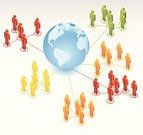 Community,Internet,Business,People,Isometric,Communication,Globe - Man Made Object,Connection,Symbol,Global Communications,Teamwork,Cooperation,Organized Group,Global Business,Strategy,Diagram,Crowd,Vector,Large Group Of People,Planning,Connect the Dots,Infographic,Global Village,Simplicity,Ilustration,Stick Figure,Color Image,Concepts,Design Element,Information Symbol,Business Relationship,Shiny