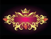 Crown,Nobility,Jackpot,Gold Colored,Insignia,Pink Color,Frame,Black Color,Backgrounds,Banner,Internet,Symbol,Design,Vector,heraldic,Design Element,Retro Revival,Ilustration,Poster,Old-fashioned,Red,Decoration,Magenta,Announcement Message,Yellow,Color Image,Commercial Sign,Vector Ornaments,Vector Backgrounds,Illustrations And Vector Art,Bronze