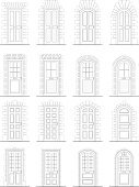 Door,Window,Arch,Keystone,Stone Material,Architecture,Victorian Style,Doorknob,Brick,Entrance,Opening,Panel,Entrance,Edwardian Style,Macro,Built Structure,Surrounding,Concrete,Classical Style,Building Exterior,Mail Slot,Construction Industry,Leaving,Illustrations And Vector Art,Vector Icons,Homes,Architectural Detail,Architecture And Buildings