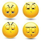 Smiley Face,Boredom,Human Face,Emoticon,Symbol,Frowning,smilie,Sadness,Depression - Sadness,Sulking,Sullen,People,Tired,Emotional Stress,Characters,Frustration,Disgust,Sphere,Envy,Facial Expression,Vector,Anger,Rudeness,Laziness,Suspicion,Furious,Irritation,Sign,Disbelief,Ilustration,Character Traits,Vector Icons,Feelings And Emotions,Concepts And Ideas,drowse,lour,Illustrations And Vector Art
