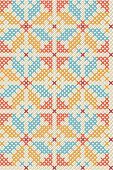 Textile,Pattern,Cross-Stitch,Geometric Shape,Textured,Retro Revival,Seamless,1970s Style,Old-fashioned,Art,Vector,Old,Deco,Design,1960s Style,Blue,Ilustration,Leaf,Backgrounds,Shape,Canvas,Fashion,Style,Decoration,Computer Graphic,Swatch,Antique,Repetition,Colors,Paintings,Nature,Illustrations And Vector Art,Vector Backgrounds,Champagne Coloured,Image,Multi Colored,Grunge