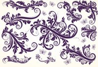 Ornate,Scroll Shape,Pattern,Floral Pattern,Swirl,Baroque Style,Fretwork,Modern,Vector,Flores,Old-fashioned,Butterfly - Insect,Decoration,Single Line,Retro Revival,Leaf,Black And White,Spiral,Backgrounds,Set,Antique,Elegance,Classic,Ilustration,Branch,Curled Up,Creativity,Decor,Vector Ornaments,Vector Florals,Illustrations And Vector Art,Nature,Nature Abstract