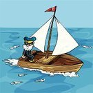 Nautical Vessel,Cartoon,Sailor,Rowboat,Sailboat,Vector,Sail,Wood - Material,Men,Sailing,Sea,Water,Rowing,Water Surface,Transportation,Recreational Pursuit,Adventure,Clip Art,Vacations,Exploration,Tourist,Lake,Bay Of Water,Mode of Transport,Tranquil Scene,Sports And Fitness,Travel Locations,Royalty Free Illustration,Summer,Illustrations And Vector Art,Rudder,Holidays,Water,Vector Cartoons,Sky,Water Sport,Discovery,Relaxation