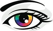 Human Eye,Printing Press,cmyk,Rainbow,Vector,Colors,Color Wheel,Color Image,Spectrum,Ilustration,Design,People,Ink,Circle,Looking Through Window,Looking,Yellow,Curve,Illustrations And Vector Art,Concepts And Ideas,Pre Press,Blue,Magenta