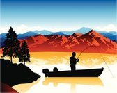 Fishing,Mountain,Nautical Vessel,Lake,Mountain Range,Silhouette,Fly-fishing,Men,River,Vector,Back Lit,Non-Urban Scene,Sunrise - Dawn,Motorboat,People,Fishing Rod,Computer Graphic,Sailing,Fishing Tackle,Sunset,Freshwater Fishing,Pond,Extreme Terrain,Nature,outdoorsman,Outdoors,Ilustration,Recreational Pursuit,Outline,Night,Catching,Leisure Activity,Digitally Generated Image,Dusk,Relaxation,Morning,Travel Locations,Travel Backgrounds,Illustrations And Vector Art,Beauty In Nature,Nature Backgrounds,Rural Scene,Vector Backgrounds,Reflection,Serene People,One Person,Tranquil Scene,Horizontal,Nature,Copy Space,Blue,Orange Color,Catching Fish