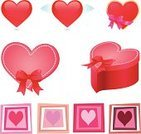 Animal Heart,Heart Shape,Box - Container,Red,Three-dimensional Shape,Icon Set,Love,Symbol,Outline,Computer Icon,Valentine's Day - Holiday,Pink Color,Grief,Pendant,Problems,Paint,Clip Art,Vector Icons,Ilustration,Love At First Sight,Greeting,Shiny,Women,Ruined,Flirting,Collection,Illustrations And Vector Art