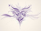 Wedding,Funky,Backgrounds,Heart Shape,Doodle,Sketch,Lace - Textile,Decoration,Design,Love,Vector,Abstract,Engagement,Grunge,Flower,Valentine Card,Silhouette,Pattern,Ballpoint Pen,Baroque Style,Valentine's Day - Holiday,Notebook,Floral Pattern,Greeting Card,Cool,Modern,Paper,Art,Drawing - Art Product,Symbol,Ornate,Elegance,Scribble,Growth,Beauty,Anniversary,Single Object,Holiday,Weddings,Parsley,Valentine's Day,Horizontal,Fragility,Holiday Backgrounds,Creativity,Holidays And Celebrations,Beautiful,Fashion,Style,Design Element,shaped,Curve